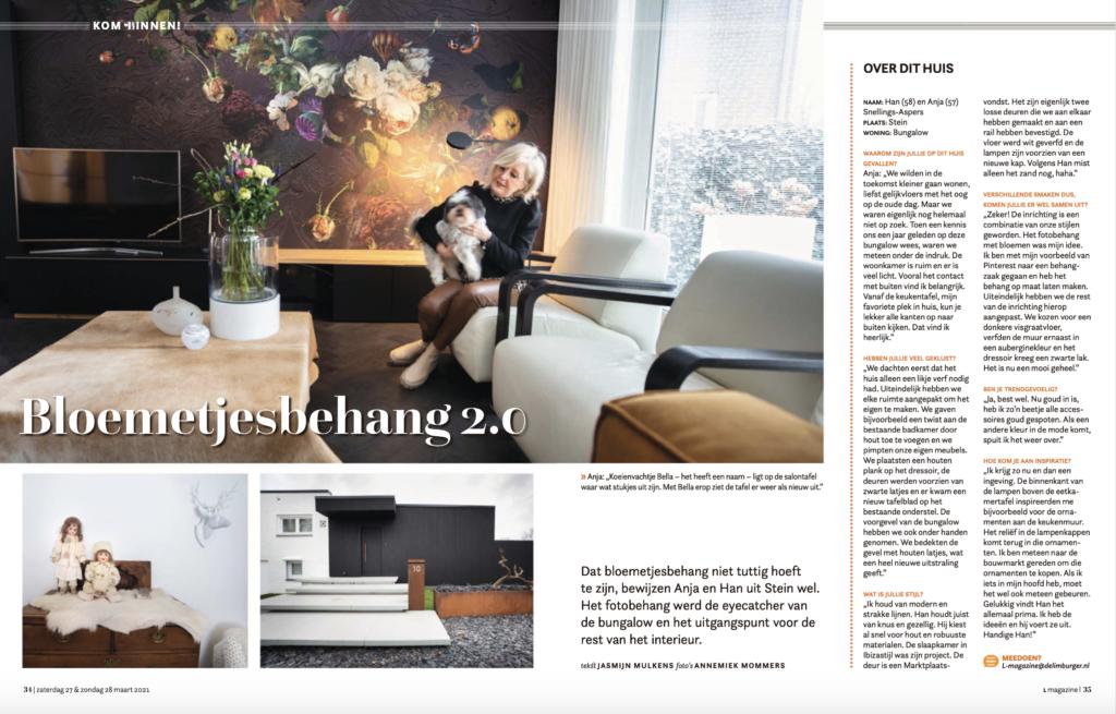 Binnenkijken in woning in Limburg